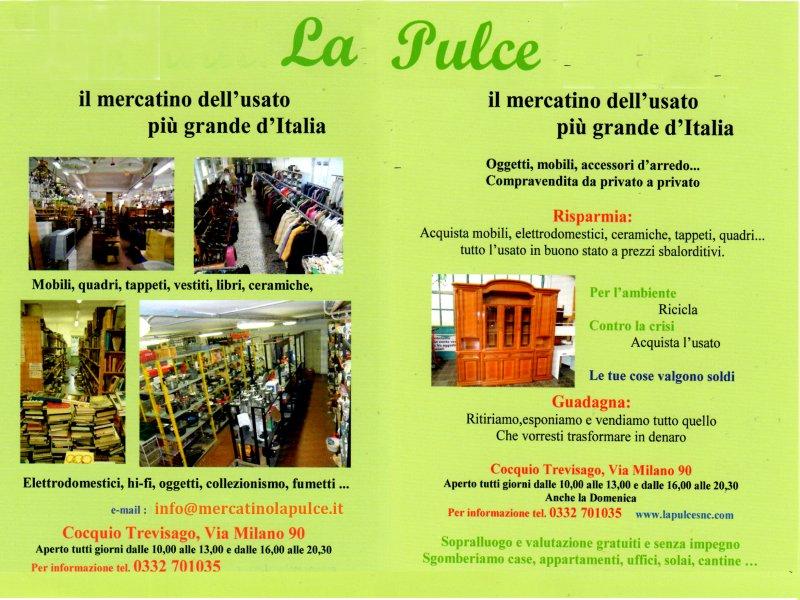 Mercatino La Pulce a Cocquio (Varese) il più grande d Italia c377d5977b2